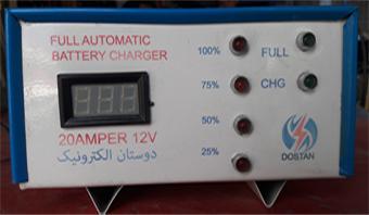 کنترول چارج سولر12ولت 30 آمپررله یی
